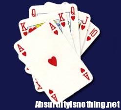 Si gioca la moglie a Poker, perde!