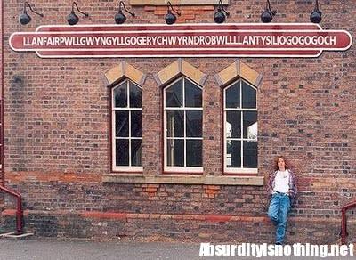 Il nome della città più lunga del mondo Llanafair
