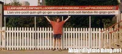 Il nome della città più lunga del mondo Llanafair...