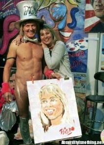 Pricasso - Il pittore del Casso con una ammiratrice