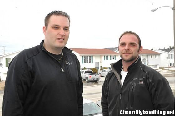 Stephen Goosney and Tommy Larkin