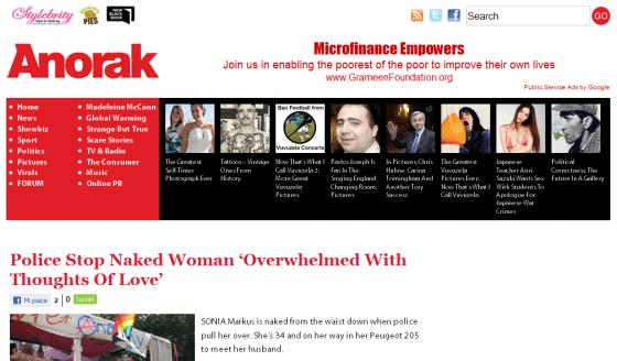 Donna si denuda, fa pensieri sul marito e rischia incidente - Anorak