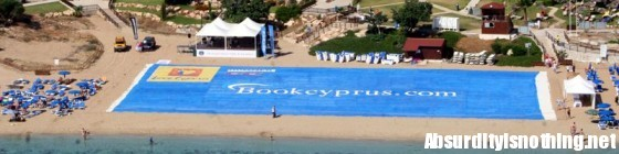 Il telo da spiaggia più grande del mondo