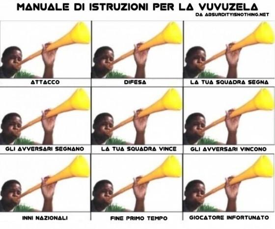 Istruzioni Vuvuzela