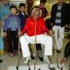 Zhou Mingdi l'uomo che scrive con ogni parte del corpo