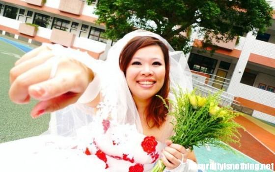Chen Wei-Yih - Si sposa con se stessa