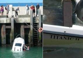 Titanic II affonda