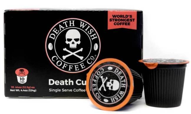 Risultati immagini per death wish coffee