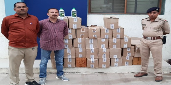 in-dhoraji-supedi,-rs-the-amount-of-suspected-pesticides-in-two-lakhs-was-seized