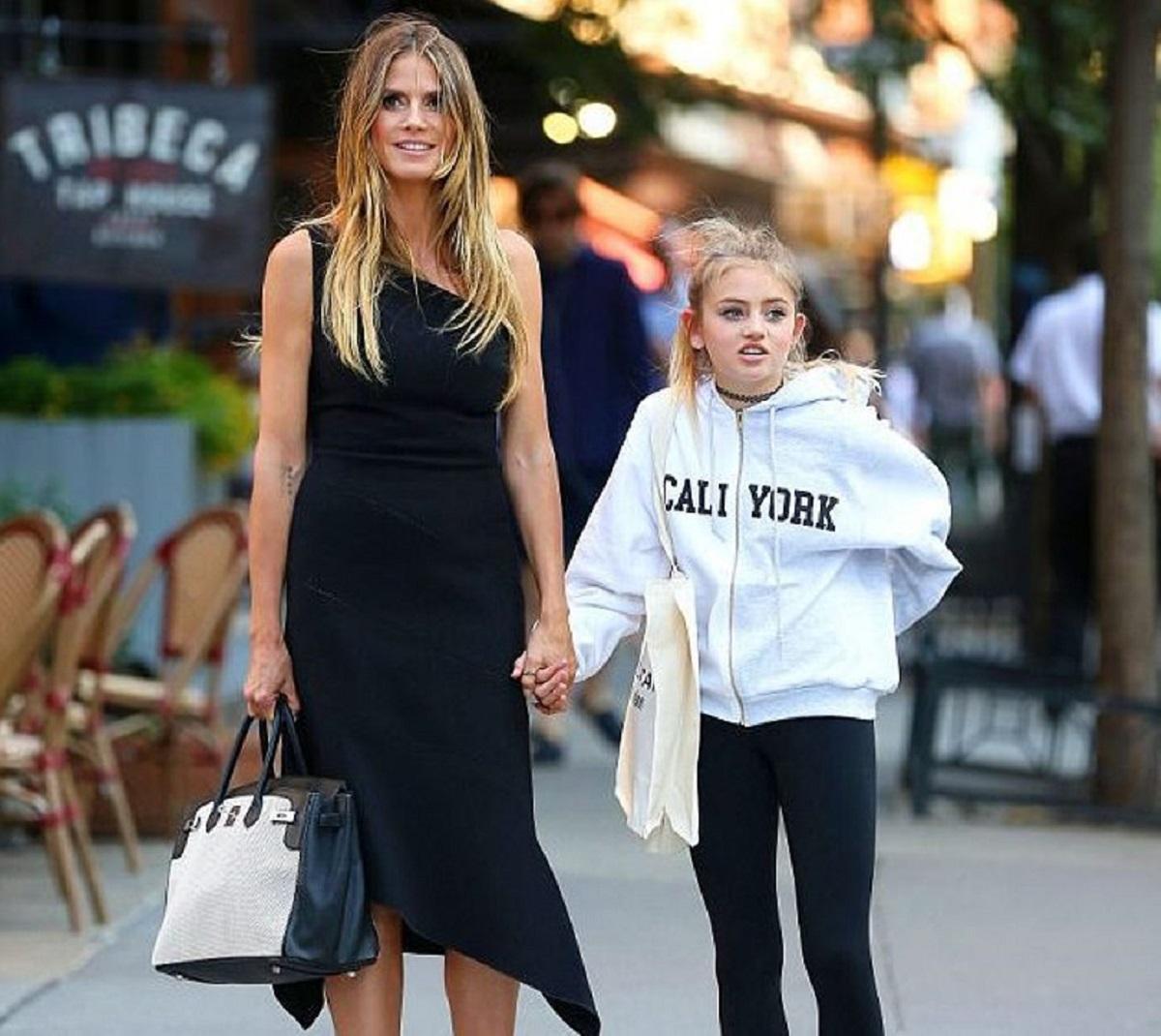 Heidi Klum and daughter