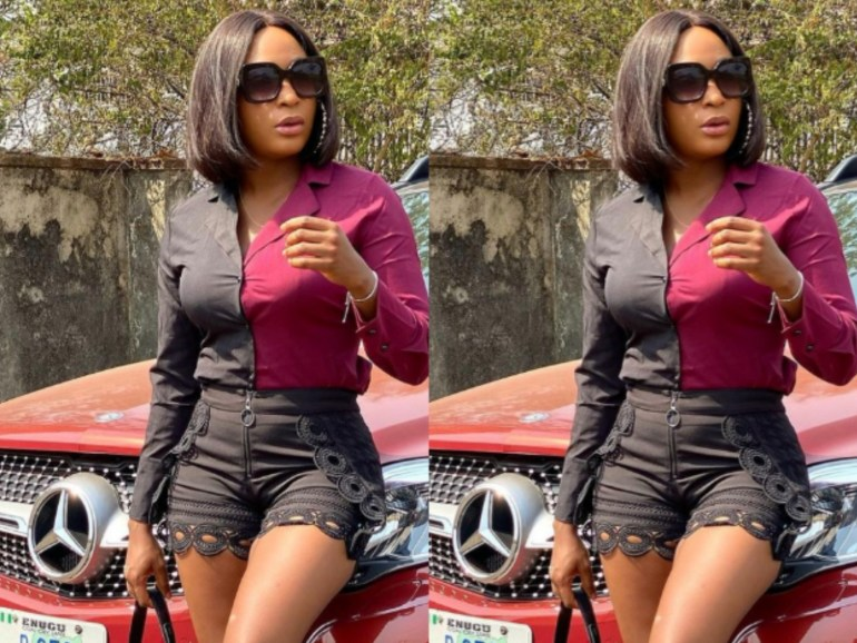 """""""Hypocrites"""" - Blessing Okoro Lambasts Fans Over Clothes Trolls"""