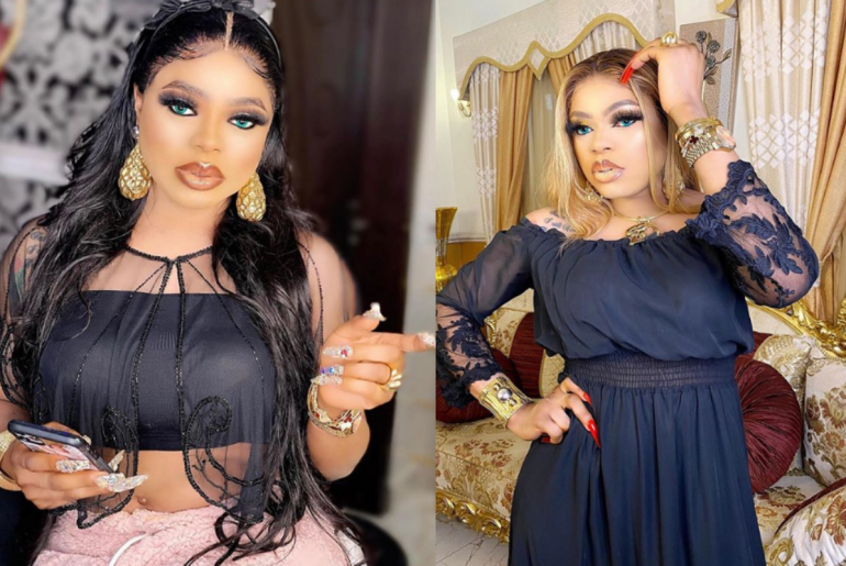 """""""I Almost Fell"""" - Bobrisky Replies Fan Who Asked Him To Stand Well In S3kzy Photos"""