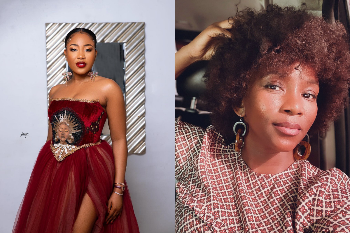 """""""Na Accomplishment?"""" - Netizens Drag BBNaija's Erica, After She Bragged About Being Followed On Twitter By Some Nollywood Personalities"""