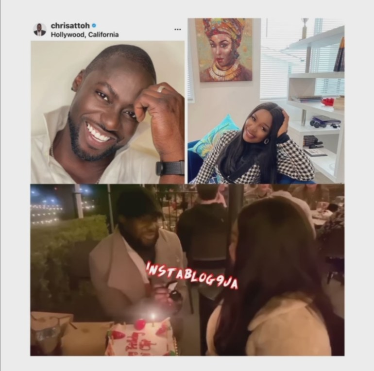 Chris Attoh and wife 1