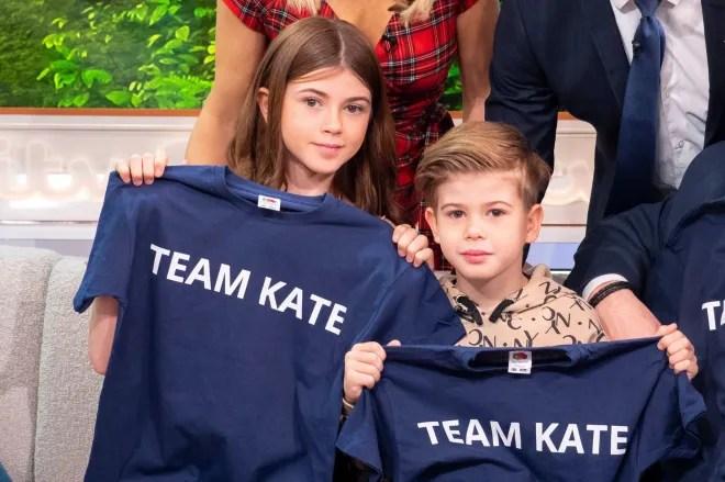 Kate Gallaway's children