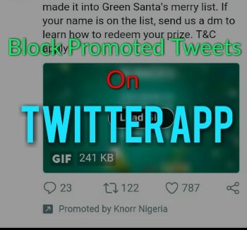 How To Block or Hide Promotional Tweets From Showing on Your Twitter App [4 Easy Methods]