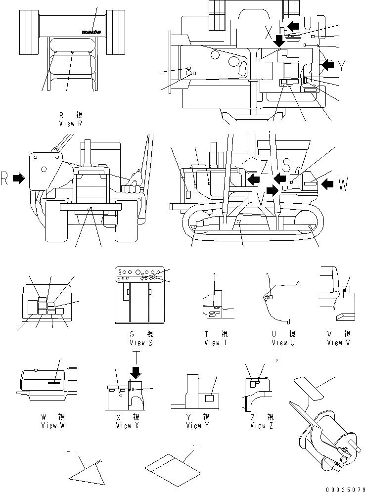 Технические характеристики трубоукладчик komatsu d355c 3