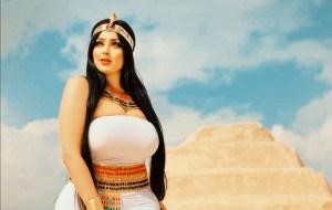 Arrested the model Salma Al-Shimi