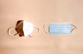 قناع طبي مستعمل خطير A dangerous used medical mask