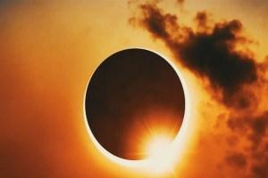 كسوف الشمس الكلي total solar eclipse 2020