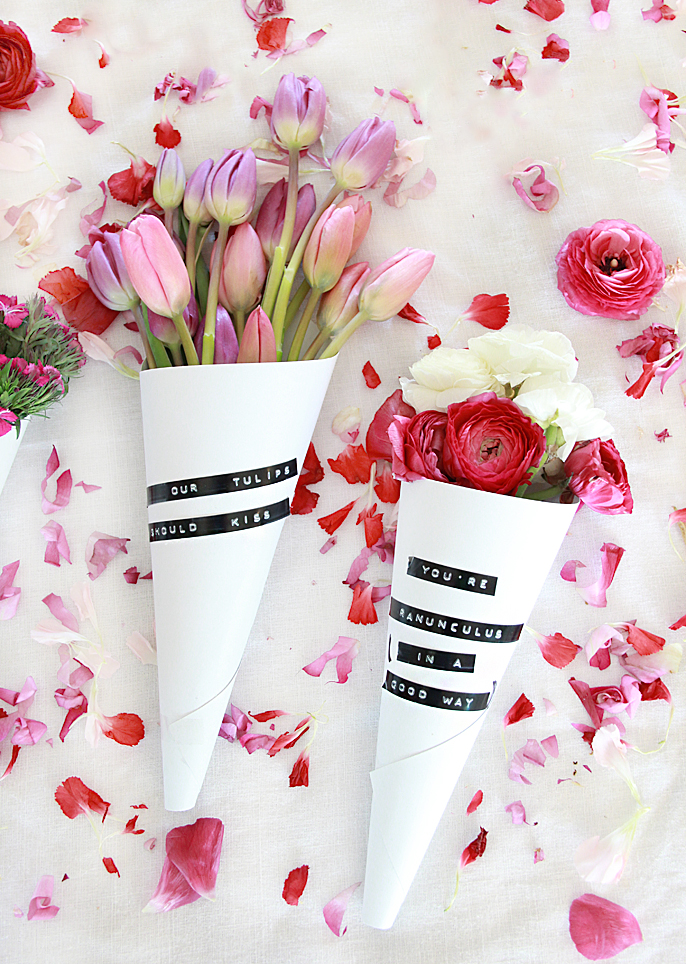 flower bouquets with puns
