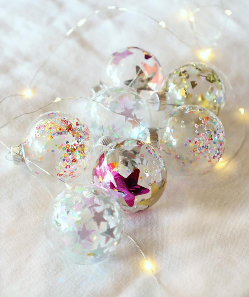 star confetti ornaments