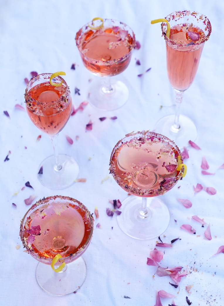 pink cocktails for valentine's day