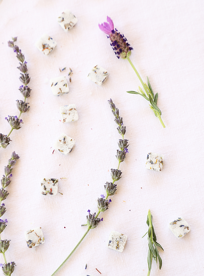 lavender sugar cubes