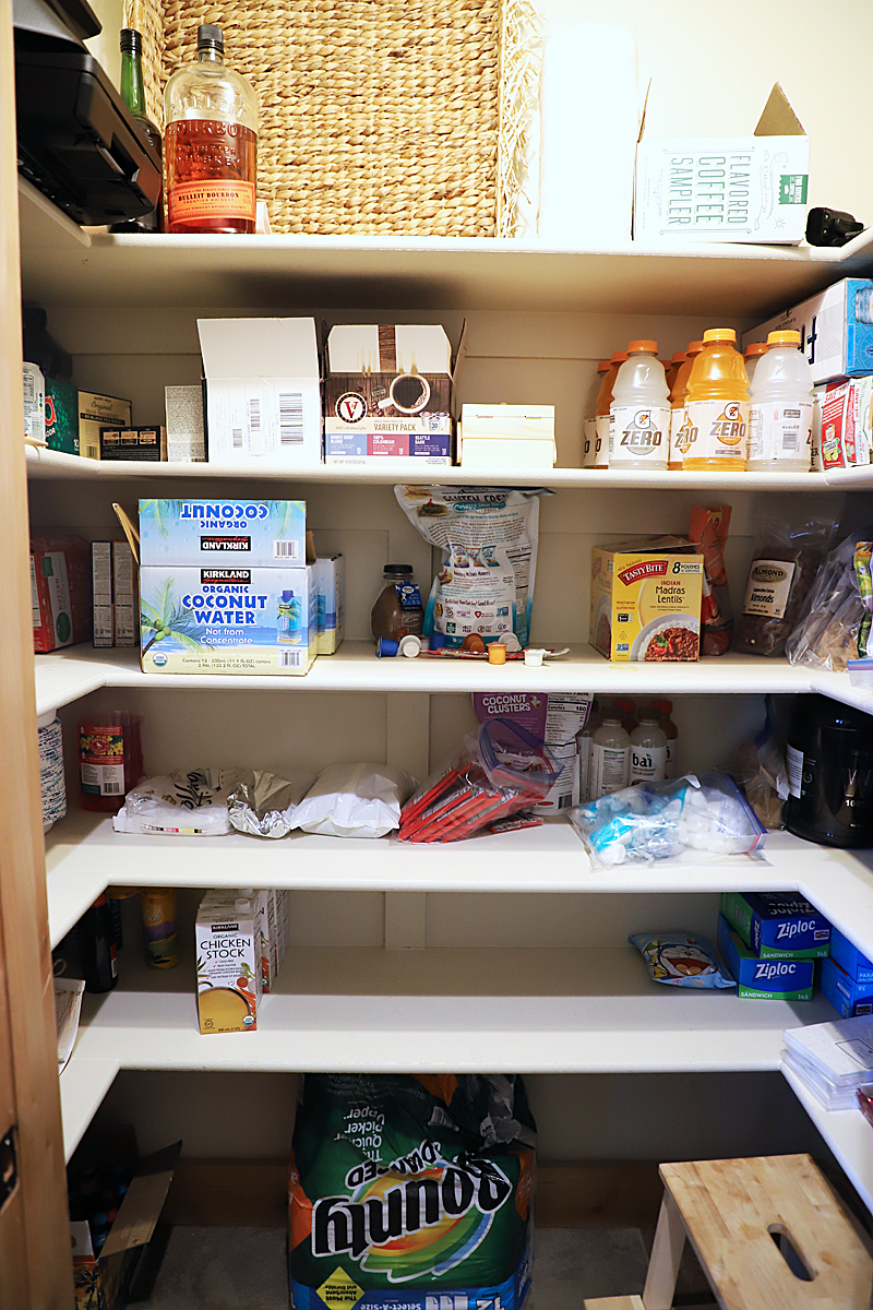 before pantry mess