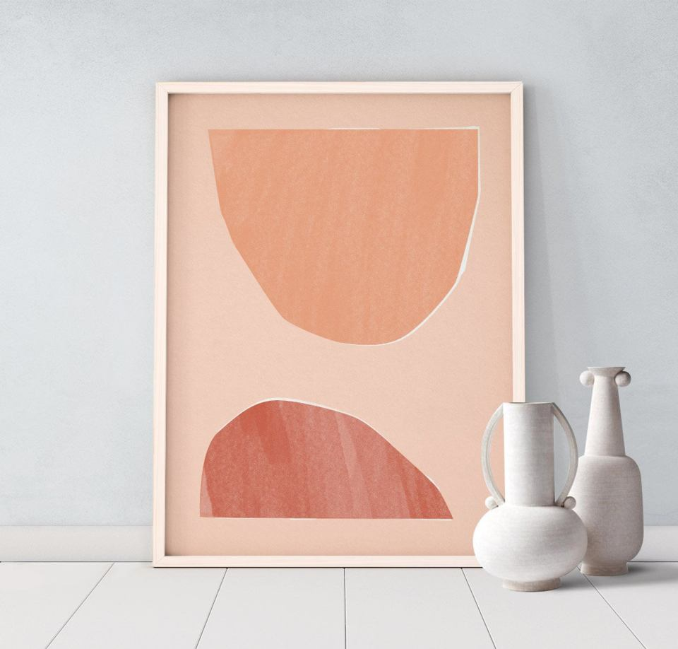 abstract geometric shapes art