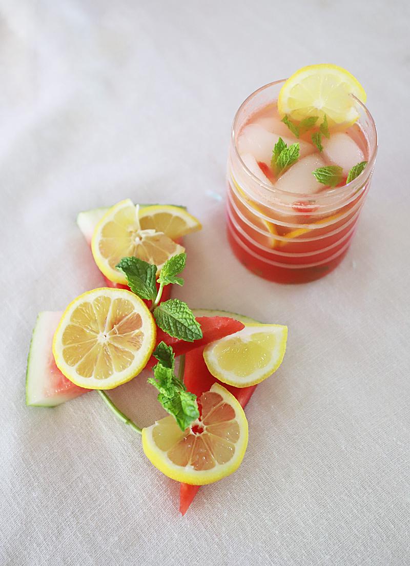 watermelon lemonade cocktail