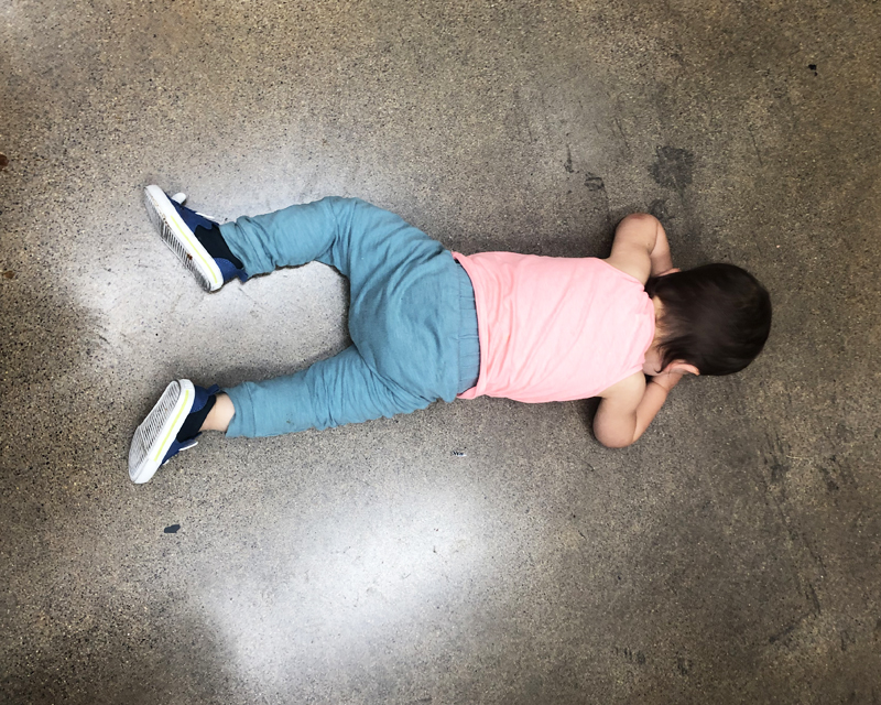 baby boy tantrum