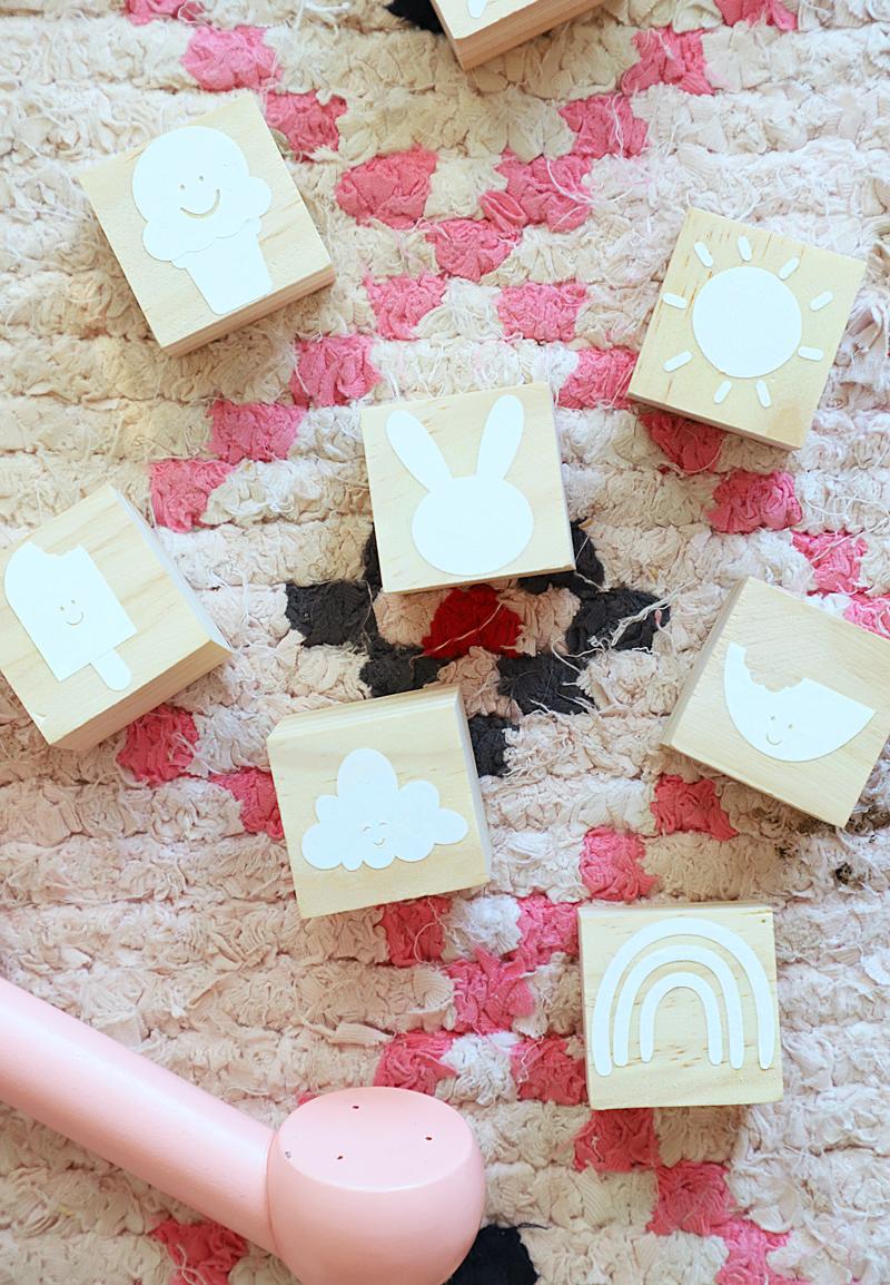 baby blocks cricut