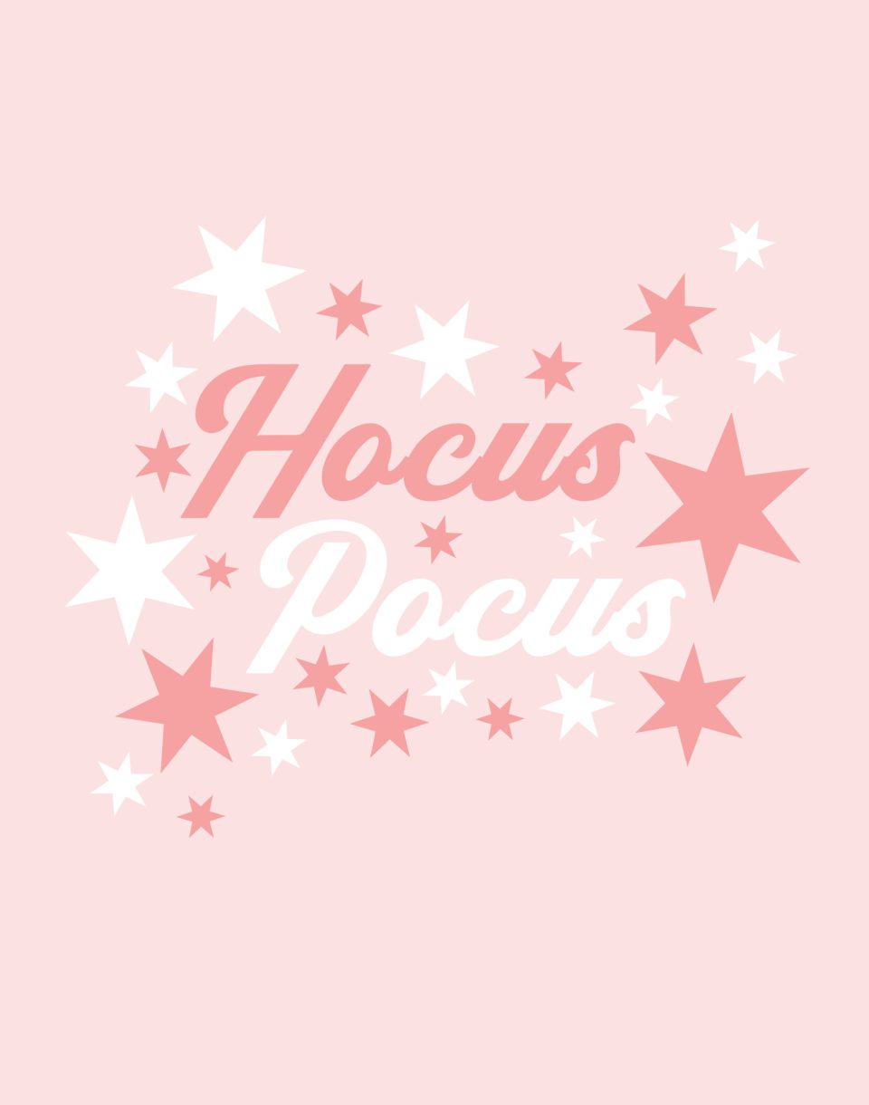 hocus pocus free printable pink with stars