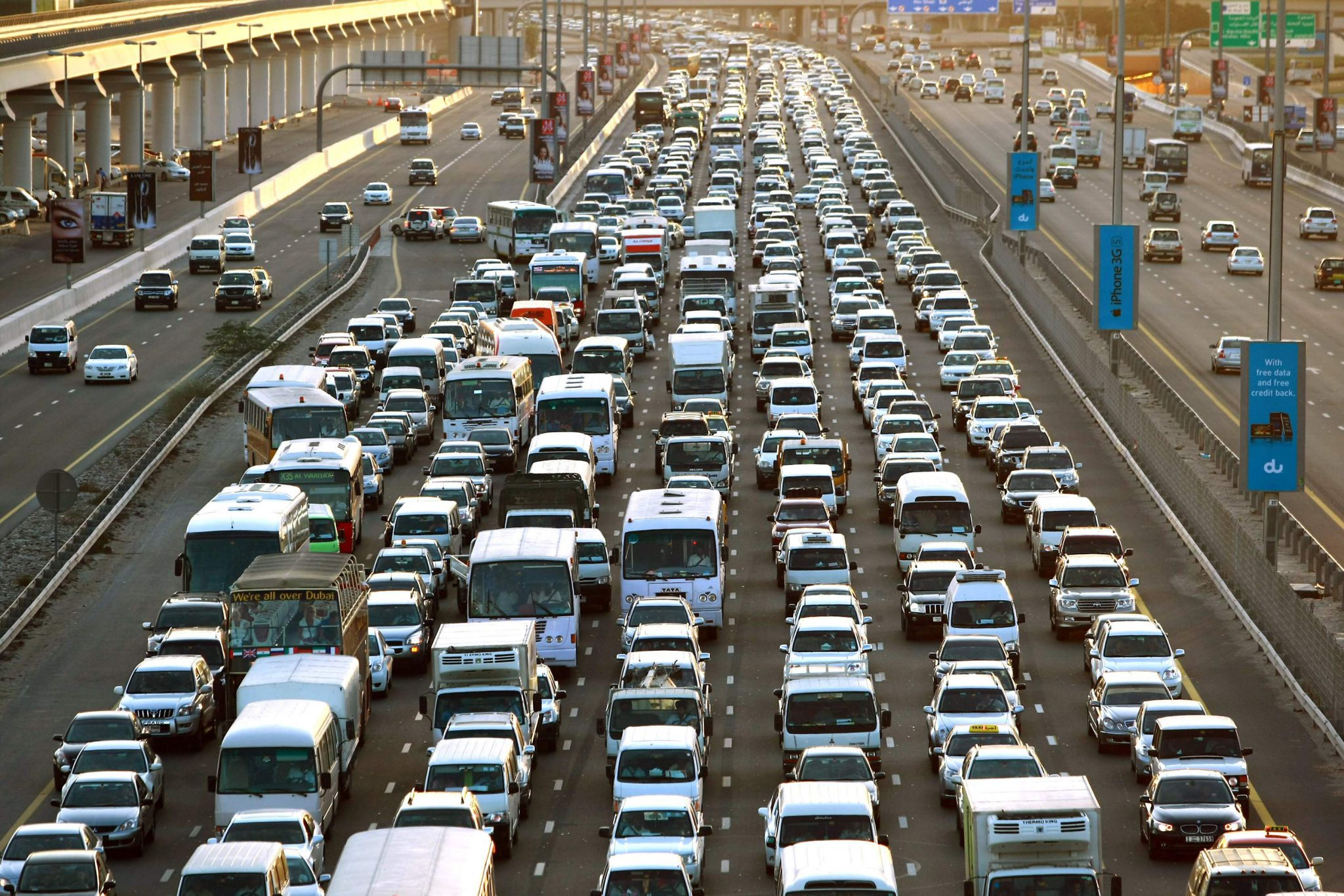New Road To Be The Solution For Dubaisharjah Traffic