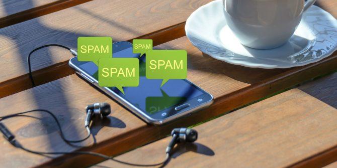 block sms spam