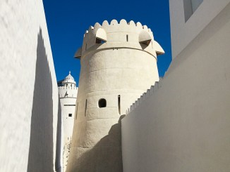 The restored watchtower at Qasr Al Hosn © DCT Abu Dhabi