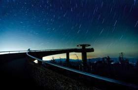 The night sky at Clingman's Dome.
