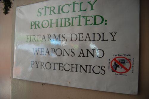 No Pyrotechnics