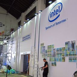 Day 0: The INTEL booth