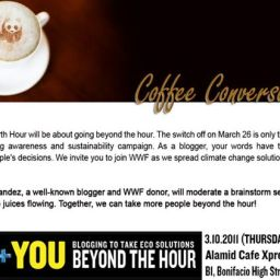 Beyond Earth Hour: Coffee Conversations