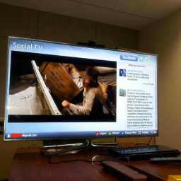 Hands on with the Samsung Smart TV