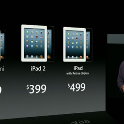 New iPads are out including iPad mini. Whatever.