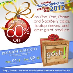 Microwarehouse Year End Sale (December 1 and 2 2012)
