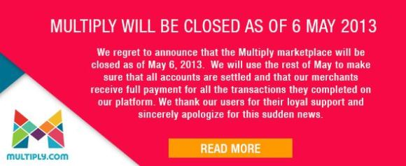 multiply will be closing