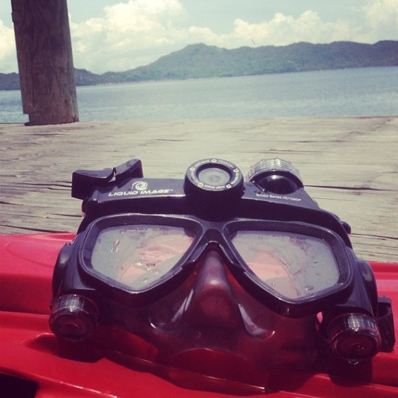 abuggedlife scuba series liquid image mask with video