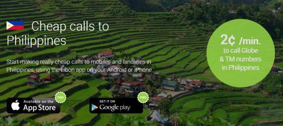 libon UK philippines free calls