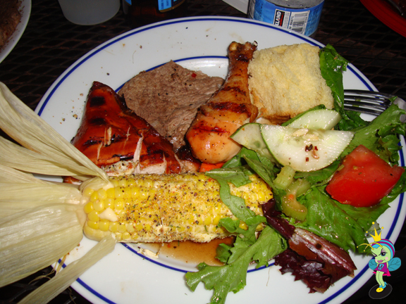 a plate o'plenty!
