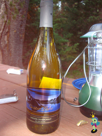 the Crater lake wine was delicious