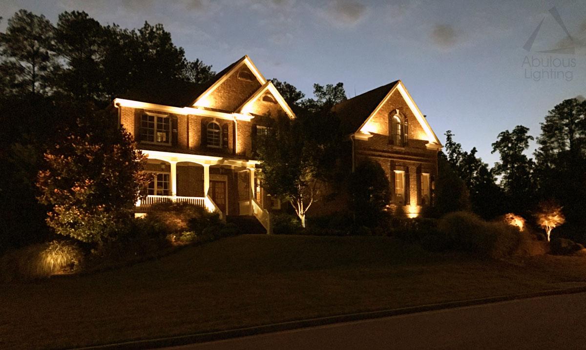 landscape lighting design gallery